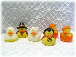 Halloween Rubber Ducks Party Favor Trick or Treat Vampire Ghost Mummy Pu... - $4.95