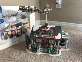 DEPT 56 - SNOW VILLAGE - THE SANTA CLAUS HOUSE VERY RARE AND HARD TO FIN... - $163.58