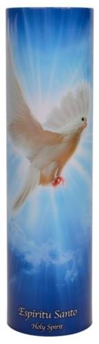 Holy spirit   led flameless devotion prayer candle