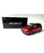 AURIS TOYOTA Storefront Display Items Red Mica Metallic Diecast /30 - $55.74