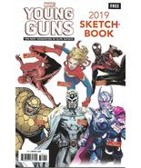 Marvel Young Guns Sketchbook 2019 NM Larraz Dauterman Del Mundo Garron  - $5.95