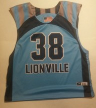 Lionville Lacrosse Adult Lax Jersey Team Issued L/XL Town Center Pharmac... - $17.99