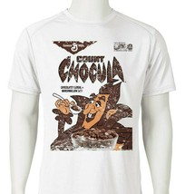Count Chocula Dri Fit graphic T-shirt moisture wicking monster cereal SPF tee image 1