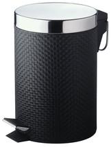 PVC NEGRO PEDAL Papelera - 3 Litros - $34.43