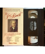 The Joy of Bach VHS Tape Brian Blessed - $5.89
