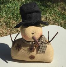 Mr. Timothy C10146 Stuffed Sitting Snowman  - $7.50
