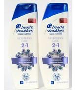 2 Head & Shoulders 12.8 Oz Nourishing Care 2 In 1 Lavender Shampoo & Con... - $26.99