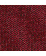 "29.5"" Long Camira Main Line Flax Parsons Red Wool Upholstery Fabric MLF1... - $14.25"