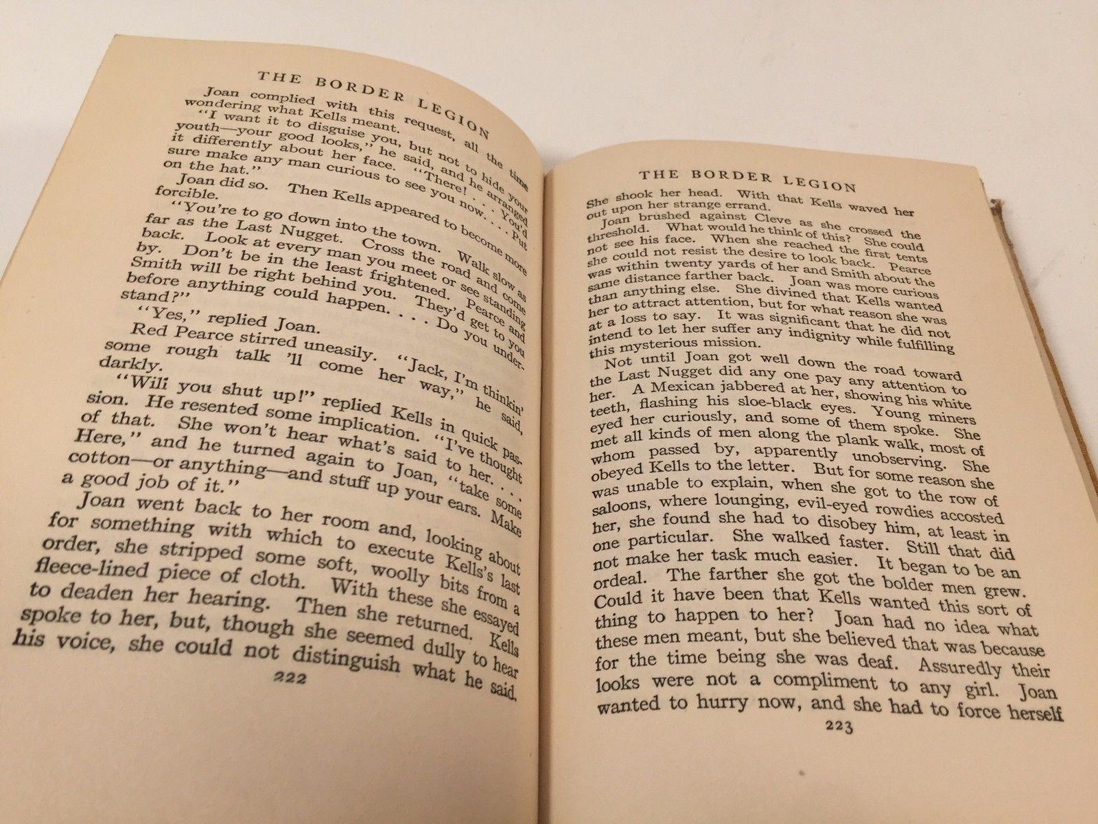 The Border Legion - Zane Grey - Hardcover 1916