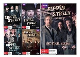 Ripper Street: Complete Series All Season 1-5 DVD Collection Set 1 2 3 4 5  - $44.95