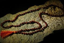 Rare Small 1 Mukhi Rudraksha One Face Rudraksh Eka mukhi Mala Prayer Bead Rosary - $499.00