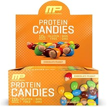 MusclePharm Protein Candies, 10g Protein, Chocolate Peanut, 2 Ounces, 12... - $22.77