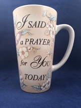 Butterflies Flowers I Said A Prayer For You Today Coffee Mug Tea God Love Friend - $24.70