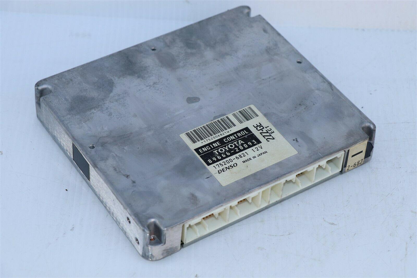 Toyota 2ZZ-GE ECM ECU Engine Control Module 89661-20093, 175200-6821