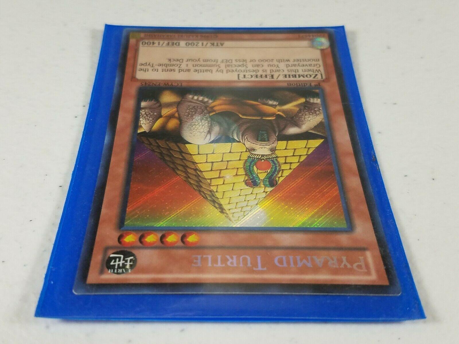 Yu-gi-oh! Trading Card - Pyramid Turtle - LCYW-EN245 - Secret Rare - 1st Ed.