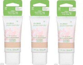 Lot of 2: NEW Almay Pure Blends Natural Makeup Foundation in 120 Ivory (... - $9.89