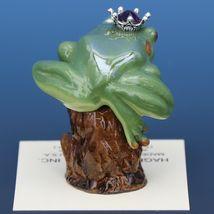 Birthstone Tree Frog Prince February Amethyst Miniatures by Hagen-Renaker image 3