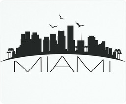 Vance 12 X 10 inch Miami Skyline Saver Tempered Glass Cutting Board - $26.99
