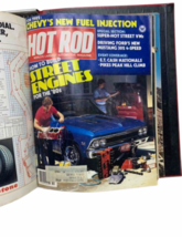 Vtg Jan-Dec 1981 Lot Bound Hot Rod Magazine High Performance Cars 1969 Binder image 7