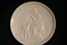 Vtg 1981 Frankoma Pottery~'O Come Let Us Adore Him~Christmas Plate~Jonie... - $11.97