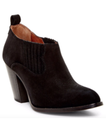 Frye Ilana Slip-On Bootie Size 8 Black NIB  $278 - $85.44