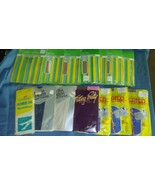 LOT OF 13 PAIRS OF Vintage NYLON STOCKING PANTY HOSE New in pack - $45.49