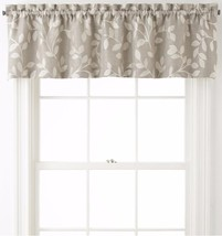 Quinn Leaf JCP Tailored Valance Rod Pocket 60x15 - $19.79