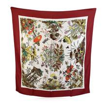 Authentic Gucci Vintage Floral Silk Scarf Funghi Mushrooms 1967 Accornero - $168.30