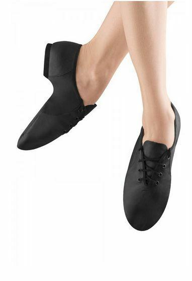 Bloch S0405L Women's Size 4.5 Medium Black Lace Up Jazz Soft Jazz Dance Shoes