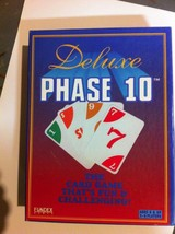 PHASE 10~ New in Box Fundex games 1995- Family Fun - $12.75