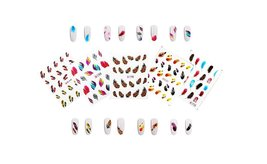 Mixed Styles 3D Nail Art Stickers Decals (10, 30 or 50 sheets) image 2