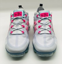 NEW Nike Air Vapormax 2019 Grey Pink Teal White AR6632-007 Women's Size 8.5 - $168.29