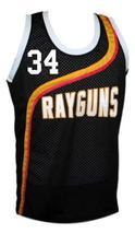 Paul Pierce #33 Roswell Rayguns Basketball Jersey Sewn Black Any Size image 4