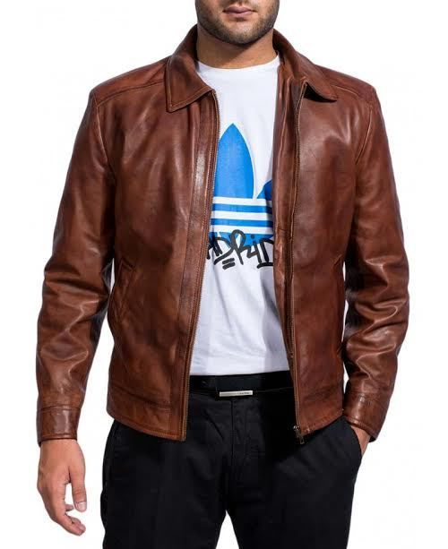 John Kuene Reeves Replica Men Leather Jacket