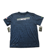 NWT Seattle Seahawks Nike Dri-Fit Sideline Velocity XXL  Performance T-S... - $29.65