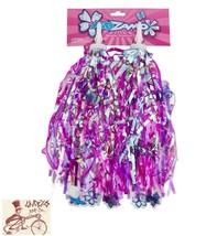KIDZAMO FLOWER PURPLE/PINK BICYCLE STREAMERS - $8.90