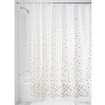 InterDesign Confetti Decorative PEVA 3G Shower Curtain Liner - 72 x 72, ... - $12.42