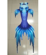 Blue mermaid tails for swimming thumbtall