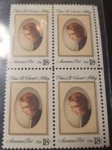 1981 American Poet Edna St Vincent Millay USA 18c stamp - $4.95