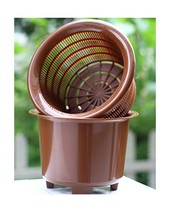 Flower Orchid Plant Mesh Net Pots Double Round Root Controlling Patent T... - $23.38
