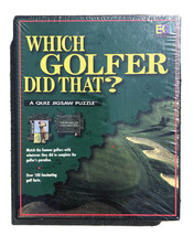Which Golfer Did That? Trivia Quiz Jigsaw Puzzle New Sealed 1997 Free Shipping - $16.82