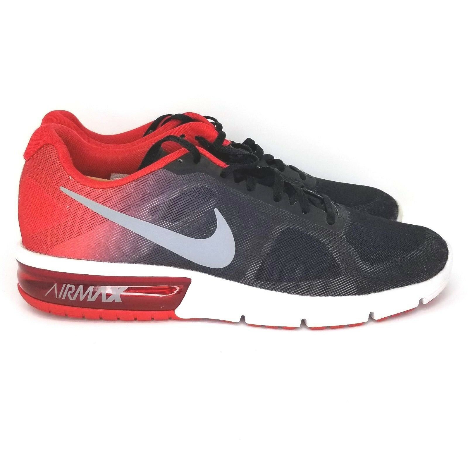 Nike Air Max 10.5 Sequent Black Red Grey and 31 similar items