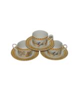 3 CHERUB Habitat Americana Omnibus Fitz & Floyd Cup Saucer Set 16978 Cup... - $29.69