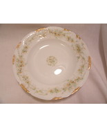 "Theodore Haviland Limoges France Bowl White Floral 7 3/4"" - $9.99"