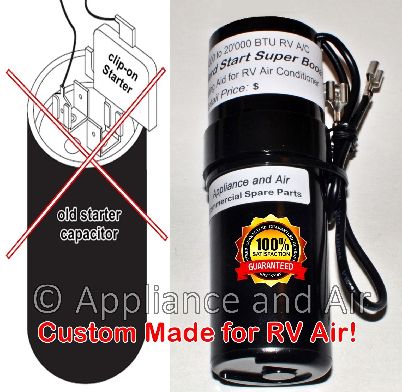 Rv hard start capacitor