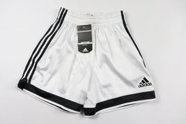 Vintage Neuf Adidas Homme Petit Sort Out Polyester Football Short Noir B... - $51.66