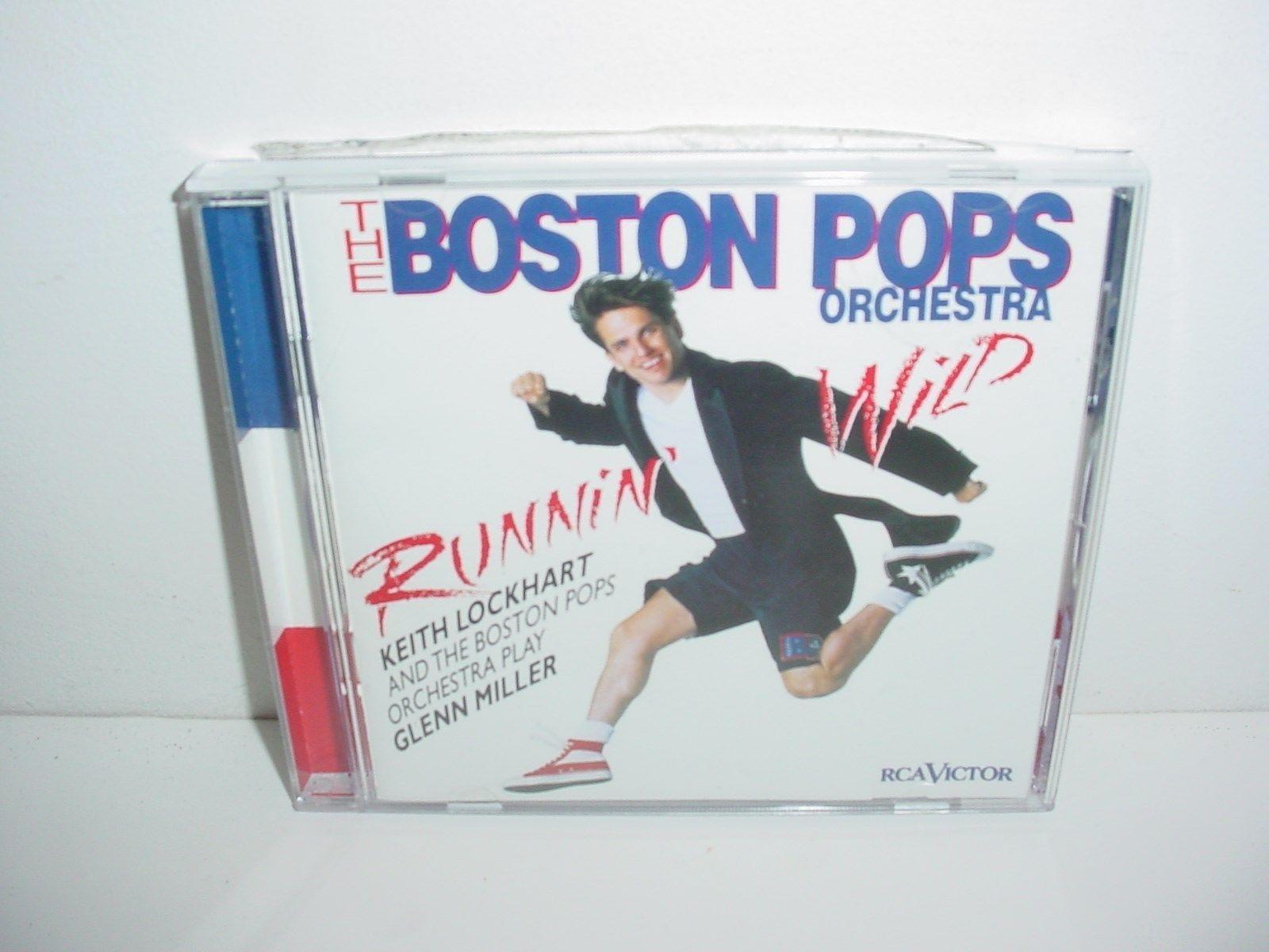 Runnin Wild Keith Lockhart Boston Pops Play Glenn Miller Keith Lockhart CD Music