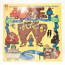 40 Tounes pour le Party Des Fêtes 2 LP Vinyl Album Record 1980 K-Tel KF 185 - $7.43