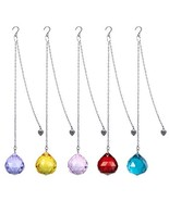H&D HYALINE & DORA Crystals Ball Prisms Suncatcher Hanging Ornament Rain... - $17.87
