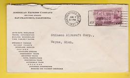 AMERICAN EXPRESS COMPANY SAN FRANCISCO CA JUNE 2 1937  - $1.98